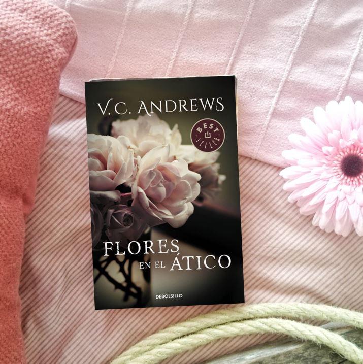 flores en el ático