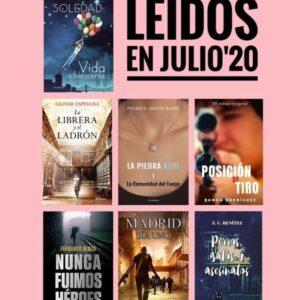 libros leídos julio